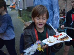 Verjaardagsfeest met wafels